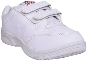 JASCH White Unisex Kids School Shoes