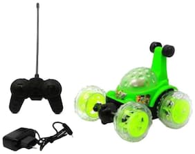 JAY KHODAL Angry Bird Rechargeable Remote Controlled Stunt Car 360-Digree Big-Bang Rock-N-Roll R/C Car's. (Multicolor)