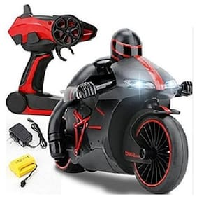 JAY KHODAL  High-Speed Lightning R/C Remote Control Motorcycle 2.4 GHz Rechargeable