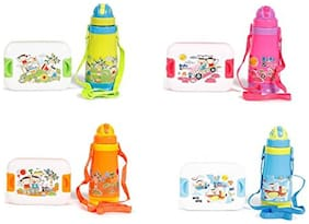Jayco Cool wonder Water Bottle With Snappy Lunch Box For Kids