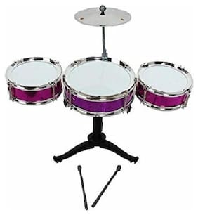 Jaynil EnterpriseTM Super Amazing Multicolor Jazz Drum Set For Kids