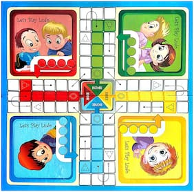 Jaynil Enterprise  Ludo Snakes & Ladders Board Game for 2 to 4 Players