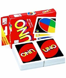 Jaynil Enterprise  Family Uno Cards (Multicolour)