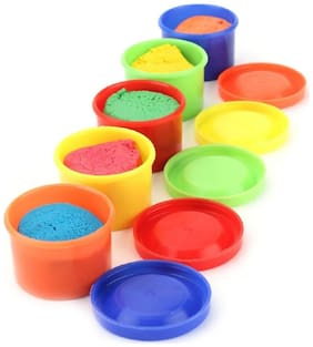Jaynil  Multicolor 5 in 1 Magic Dough for Kids