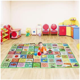 JBG 100% Waterproof;Anti Skid;Double Sided Baby Play & Crawl Mat (6'X4' Feet)