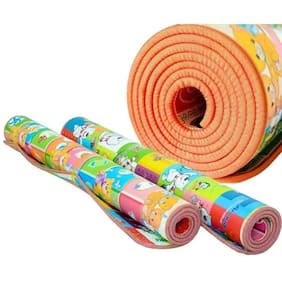 JBG Reversible Yoga Mats for kids ( 2 x 6 Ft)(Thickness : 4mm)