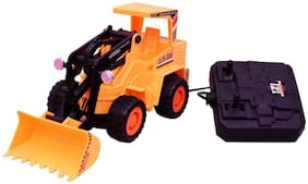 Jcb Construction  Truck Toy with Wire Remote Control For Boys & Girls DUDE-11