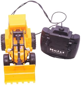 Jcb Construction  Truck Toy with Wire Remote Control For Boys & Girls DUDE-19