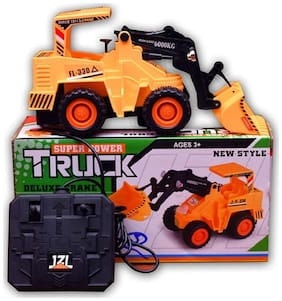 Jcb Construction  Truck Toy with Wire Remote Control For Boys & Girls DUDE-13
