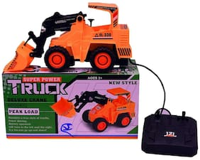 Jcb Construction  Truck Toy with Wire Remote Control For Boys & Girls DUDE-14