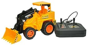 Jcb Construction  Truck Toy with Wire Remote Control For Boys & Girls DUDE-20