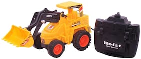 Jcb Construction  Truck Toy with Wire Remote Control For Boys & Girls DUDE-17