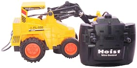 Jcb Construction  Truck Toy with Wire Remote Control For Boys & Girls DUDE-18