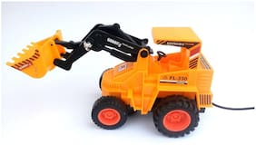 Jcb Construction  Truck Toy with Wire Remote Control For Boys & Girls DUDE-15