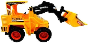 Jcb Construction  Truck Toy with Wire Remote Control For Boys & Girls DUDE-09