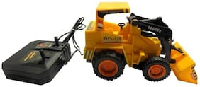 Jcb Construction  Truck Toy with Wire Remote Control For Boys & Girls DUDE-07