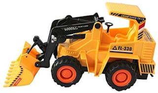 Jcb Construction  Truck Toy with Wire Remote Control For Boys & Girls DUDE-05