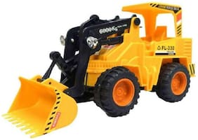 Jcb Construction  Truck Toy with Wire Remote Control For Boys & Girls DUDE-03