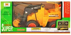 Jcb Construction  Truck Toy with Wire Remote Control For Boys & Girls DUDE-01