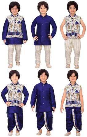 Jeet Stylish Boys Kurta Pyjama and Dhoti Set