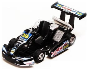 jgg jain gift gallery Turbo Die Cast 5-inch Go Kart with Pullback Action