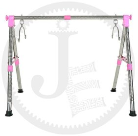 JIN Fully Foldable Cradle with Round Frame, Indian Style Ghodiyu