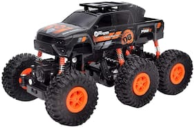 jk int 2.4GHZ 6 Wheel Rock Crawler SUV Monster Truck 4WD Rechargeable Remote Control Car