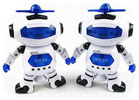 jk int crazy toys Multicolour Robots - Pack of 2