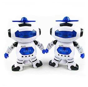 jk int crazy toys Multicolour Robots - Pack of 2