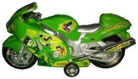 jk int Green Plastic Bike
