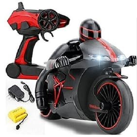 jk int High Speed Sports Bike Rechargeable Motorcycle with 2.4 GHz Remote Control & LED Headlights