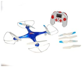jk int LH-10 2.4 Ghz Remote Control Drone, 6 CH 6-Axis Quadcopter, One Key Return, Headless Mode, R/C Drone