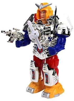 jk int  Multicolor Plastic Robot