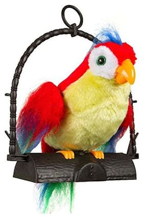 jk int Musical Talk Back Parrot