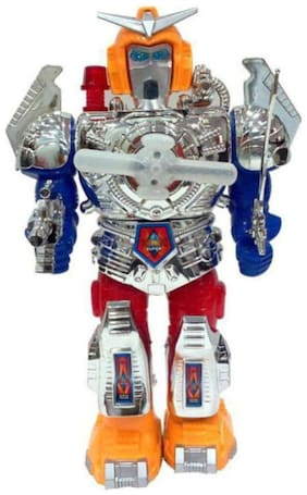 jk int super Combat Hero Robot (Multicolor)