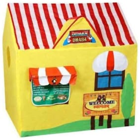 jk int  Yellow And Red Non-Toxic Dhaba Tent House