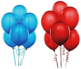 JMD Balloon Blue & Red 50pcs each