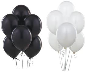 JMD Black & White balloon 50pcs each