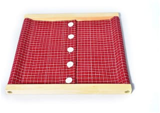 JNANAMUDRA -MONTESSORI-PLE- SHIRT BUTTON FRAME