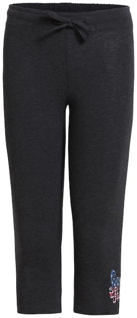 Jockey Black Melange Capri : Style Number - UG07 Black