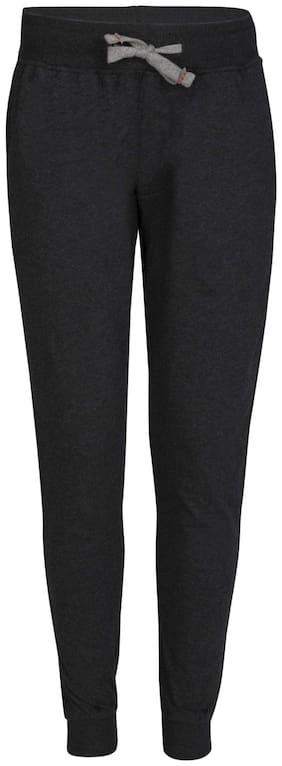 Jockey Boy Cotton Track pants - Black