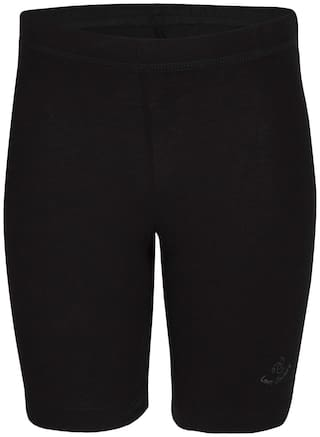 Jockey Panty & bloomer for Girls - Black , Set of 3