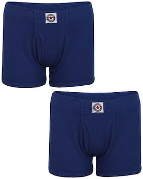 Jockey Brief For Boys - Blue , Set of 2