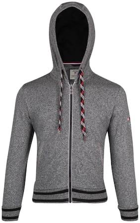 Jockey Boy Cotton Solid Winter jacket - Grey