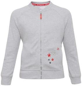 Jockey Girl Cotton Solid Winter jacket - Grey