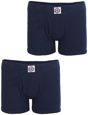 Jockey Bloomer For Boys - Blue , Set of 2