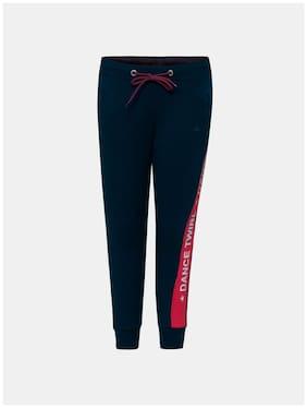 Jockey Girl Cotton Track pants - Blue
