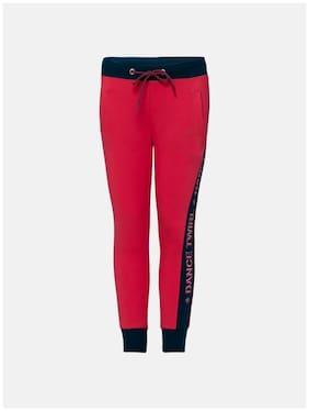 Jockey Girl Cotton Track pants - Pink