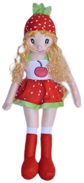 Joey Toys Red And White Dolls - 69.85 cm (27.5 inch)