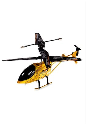 JS High Speed Gold Edition Yellow Helicopter